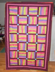 Decke-Oma-gequiltet